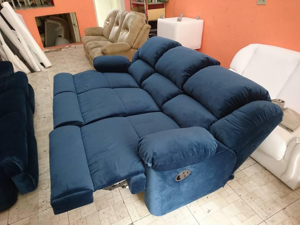 reformas da sofá reclinável